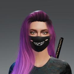 Cheeky Mask