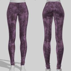 Leggings Maddy Grunge Purple