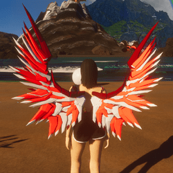 Mech Wings Female Reds