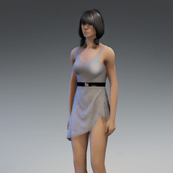 Dress Lara 2.0 gray