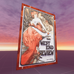 The West End Review Alphonse Mucha
