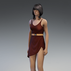 Dress Lara 2.0 brown