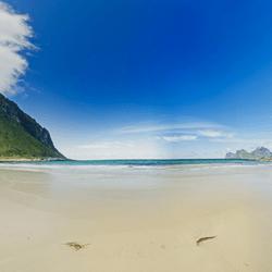 Seamless Environment SkyBox - Summer Beach