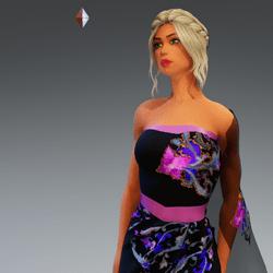 Sari Gown #4