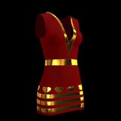 Lily Heart Dress 03