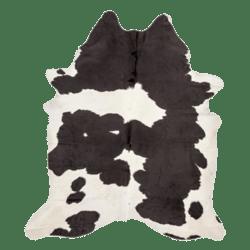 Skin Rug Cow BW
