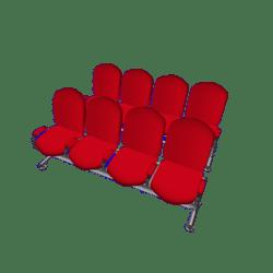 Auditorium Chairs x 8 A