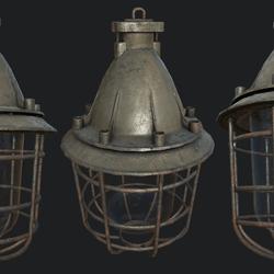 Bunker Lamp 1B