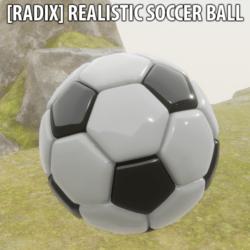 [Radix] Realistic Soccer Ball