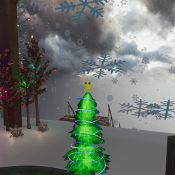 OG Emissive Holiday Tree