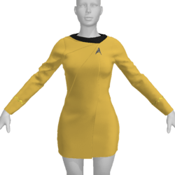 AV2 -Vintage Star Trek Dress Replica