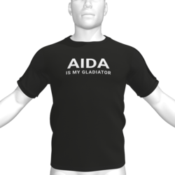 AIDA IS MY GLADIATOR T-Shirt - Male