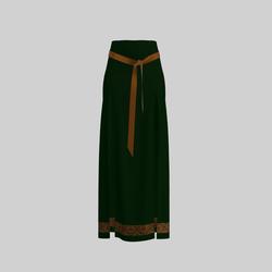 Skirt Briana Green & Gold 2.0