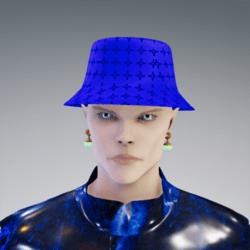 Bucket Bert Bellic Logo // Blue