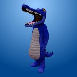 Croc Costume Blue (Male)