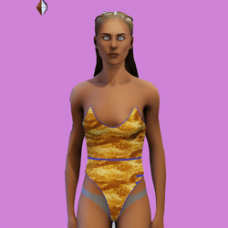 Bambi One Piece Gold