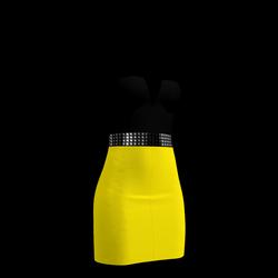 80's Day-Glow Club Dress 13