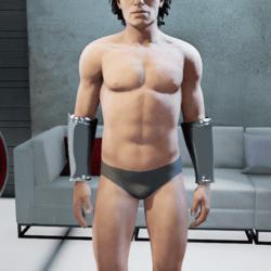 Superhero Steel Bracelets (Male)