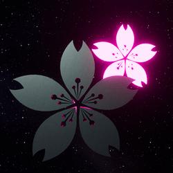 LIGHT STAMP - Sakura