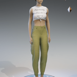 cargo pants for women khaki 2