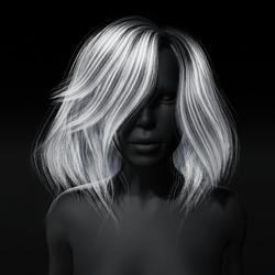 Hair - Kelsey - Women's - Messy Bob Hairstyle