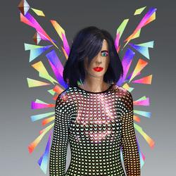 Female - Go-Glow Animated Techno Wings