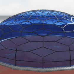 Giant Glass Dome