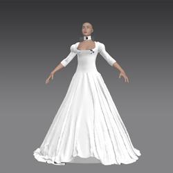 Queen Dress Form File