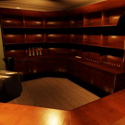 Bar Corner Cupboard