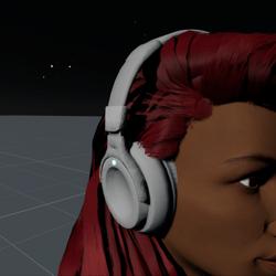 Headphones White F