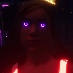 Female go-GLOW Pink Eyes