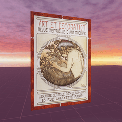 Art et Decoration Alphonse Mucha