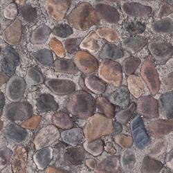 pavimento con ciottoli