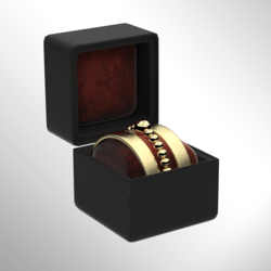 Gold Bracelet Set Right [FEMALE]