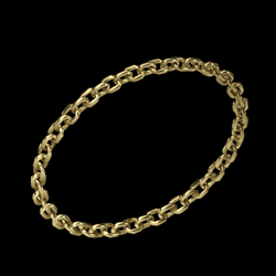 Chain Bracelet gold - rigged right arm