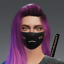 Shy Sad Mask