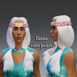 Danna hair (for summer collection)- collor picker