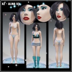 X2 - Alina - V2 Avatar (non-Glossy)