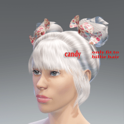candy-this only fit to billie hair .