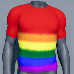 Men TeeShirt - Gay Pride