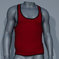 Sexy Men Tank - Red