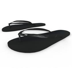 Woman Flip Flops Shoes Black