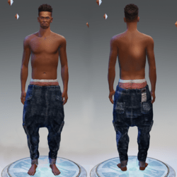 DropCrotch Jeans [MALE]