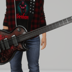 Toxic guitar X series (slatanic)
