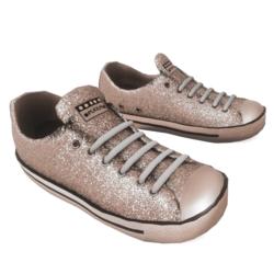 Glitter Sneakers silver