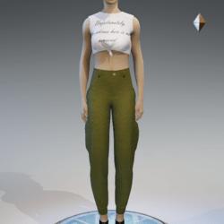 cargo pants for women khaki 3