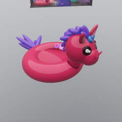 Unicorn Party Float