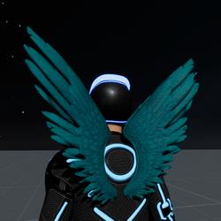 Wings Aquamarine Male
