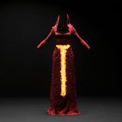 Red High Priestess Costume Ver2