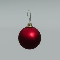 Shattering Christmas Bulb (Small)